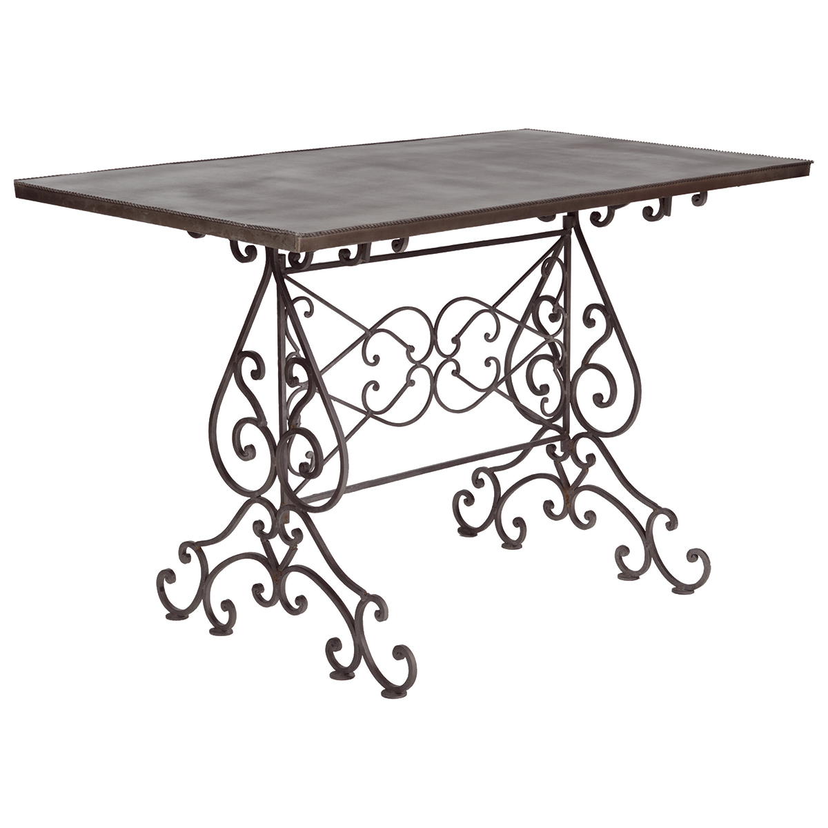 1200x1200 Boulevard Small Outdoor Dining Table