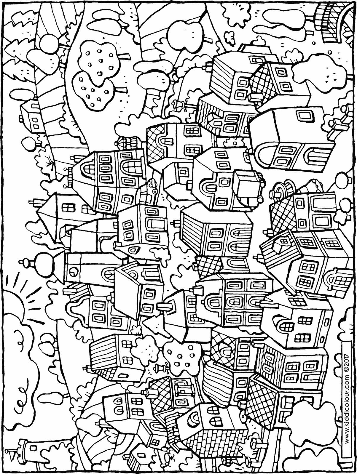 1204x1600 A Small Village