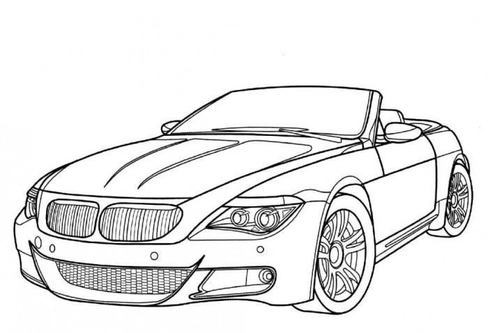 700x478 Coloring Pages Of Cars Brabus Smart Car Page