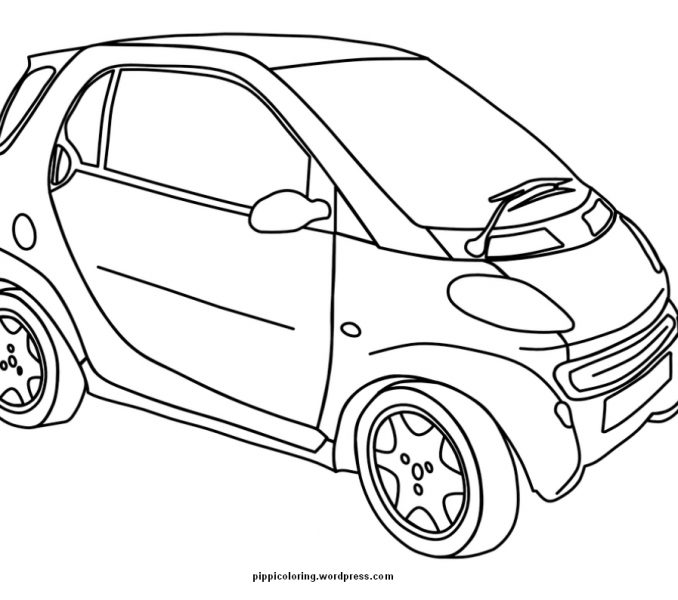 Smart Car Drawing At Getdrawings