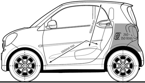 Smart Car Drawing at GetDrawings com | Free for personal use Smart