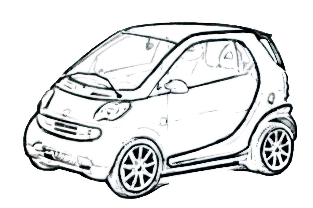 smart car drawing at getdrawings com