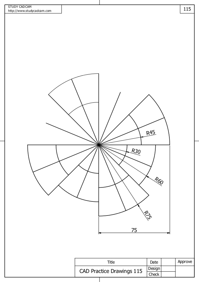 638x903 Cad Practice Drawings 111 120