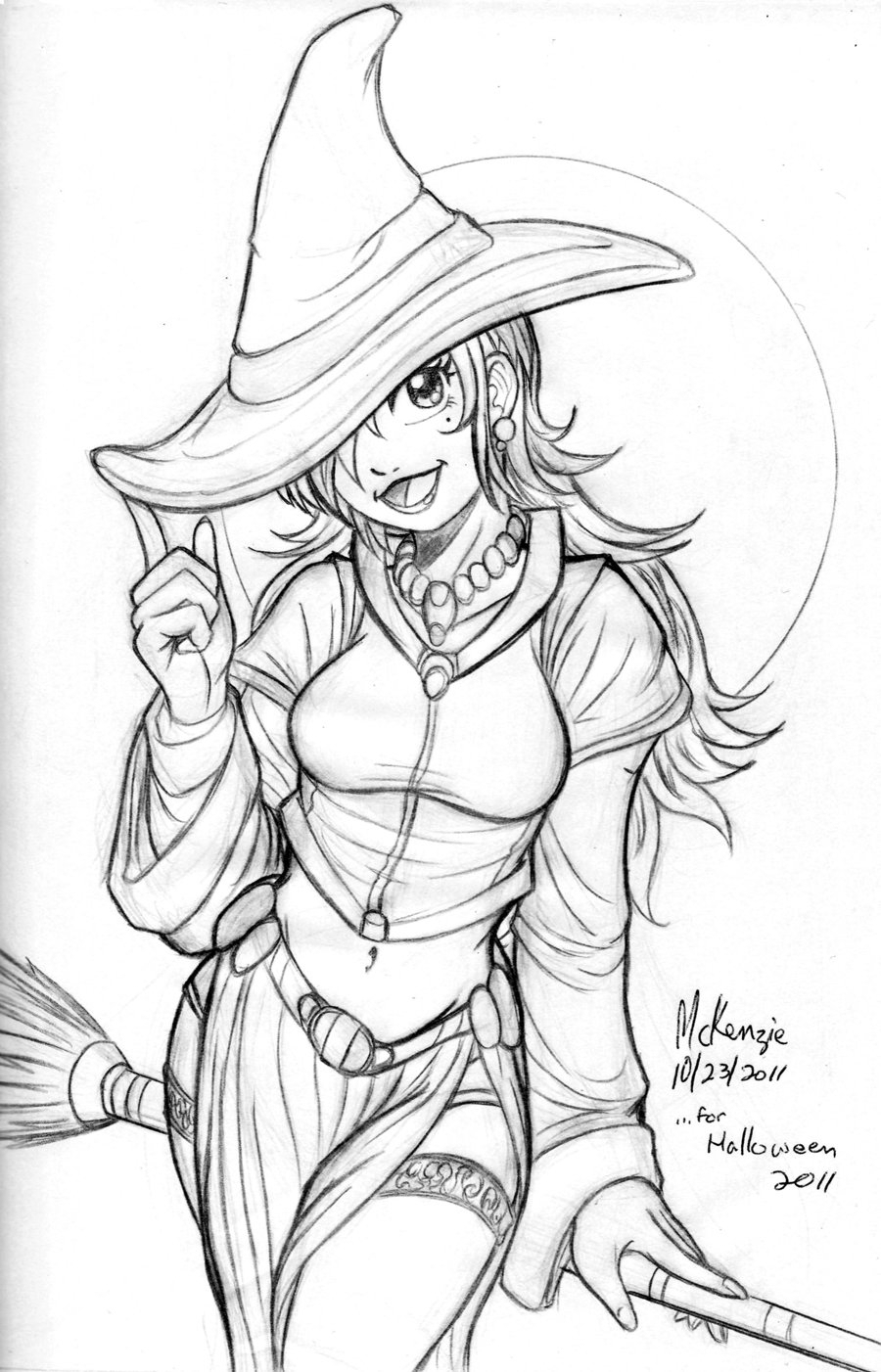 900x1402 Anime Witch Drawing Anime Witch Drawing