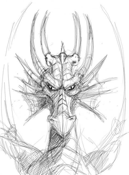 Smaug Drawing