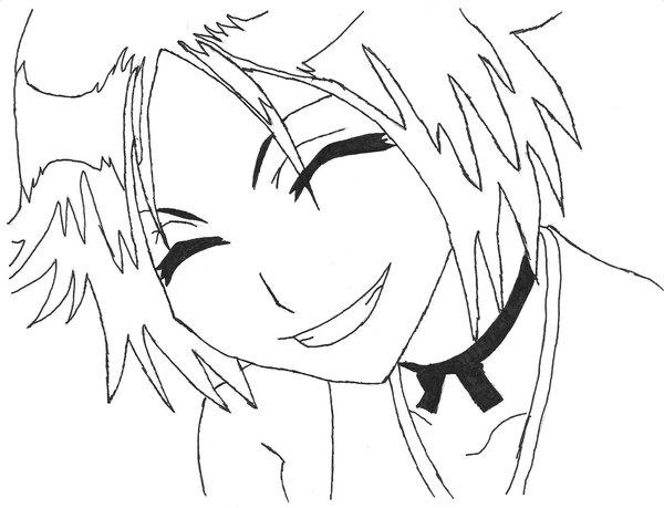 600x459 Young Yoruichi Smile By Mifang