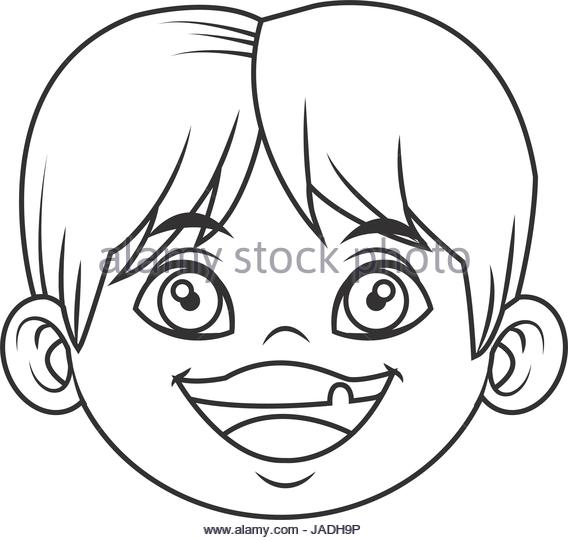 568x540 Cute Little Boy Drawing Black And White Stock Photos Amp Images