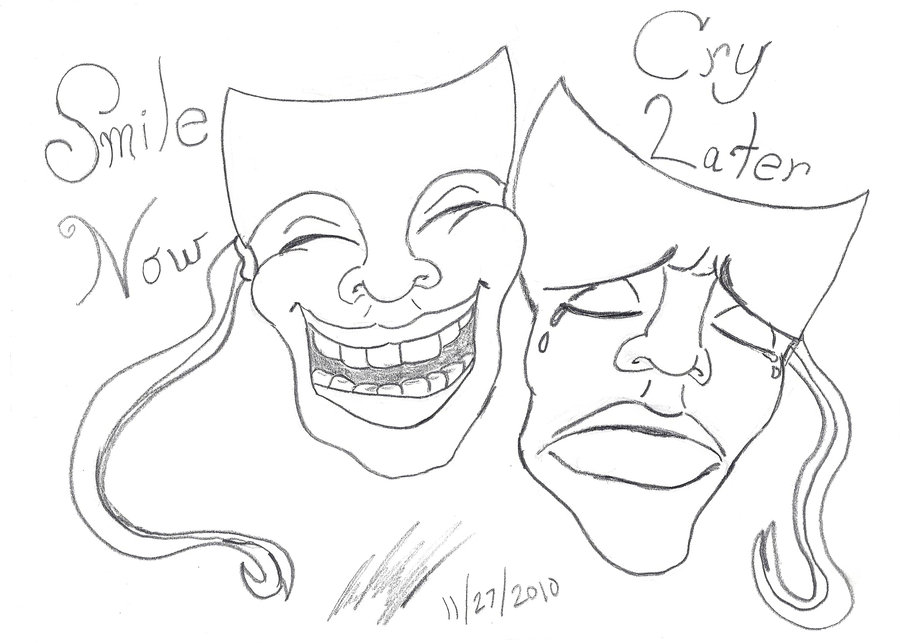 900x643 Smile Now Cry Later By Djamjr805
