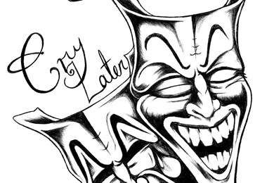 390x260 The Gallery For Gt Drawings Of Smile Now Cry Later Faces Desktop