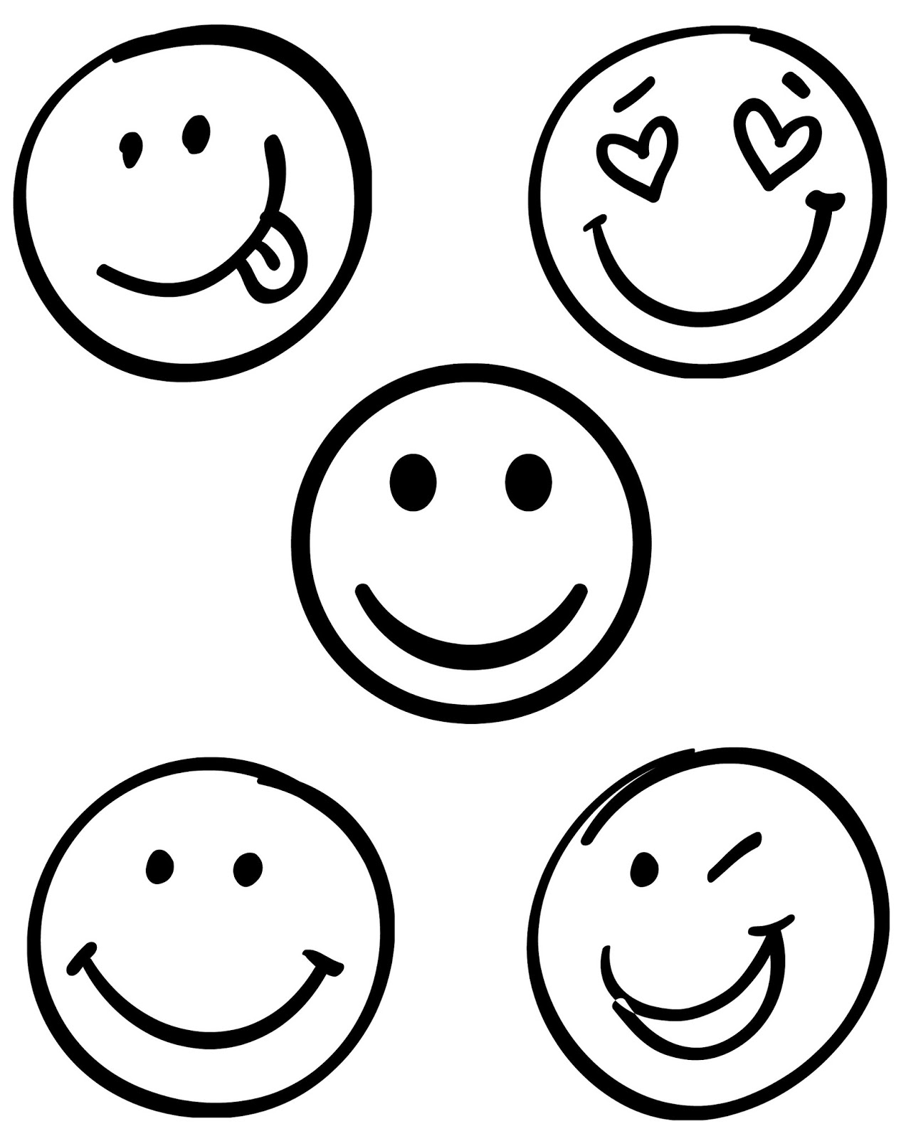 Smiley Face Drawing at GetDrawings.com | Free for personal ...
