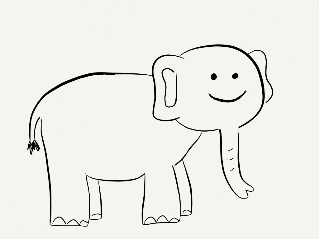 Smiley Face Line Drawing at GetDrawings.com | Free for personal use ...