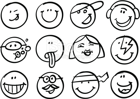 491x349 Smiley Faces Images Spiderpic Royalty Free Stock Photos