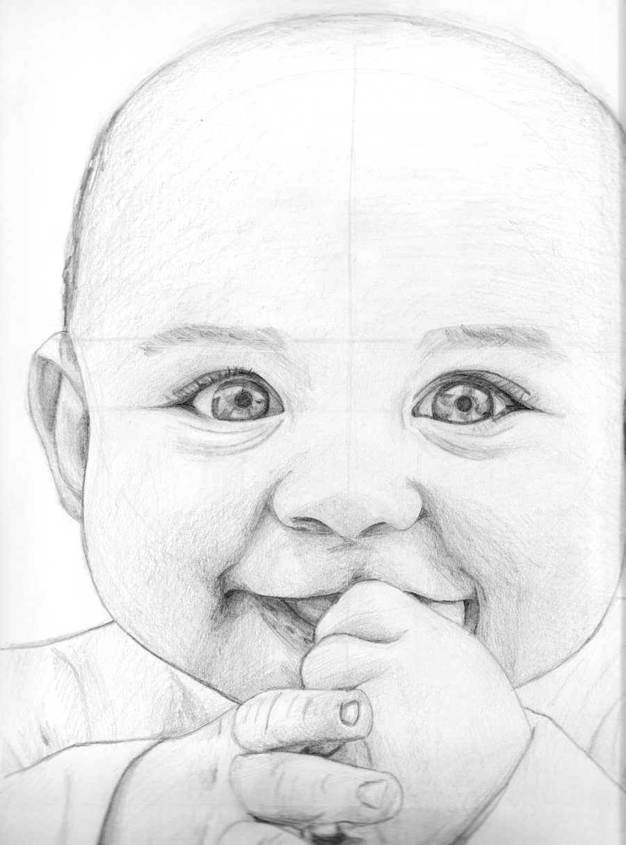 900x1215 Smiling Baby By Seraphicfairy