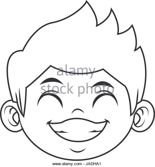 499x540 Cute Little Boy Drawing Black And White Stock Photos Amp Images