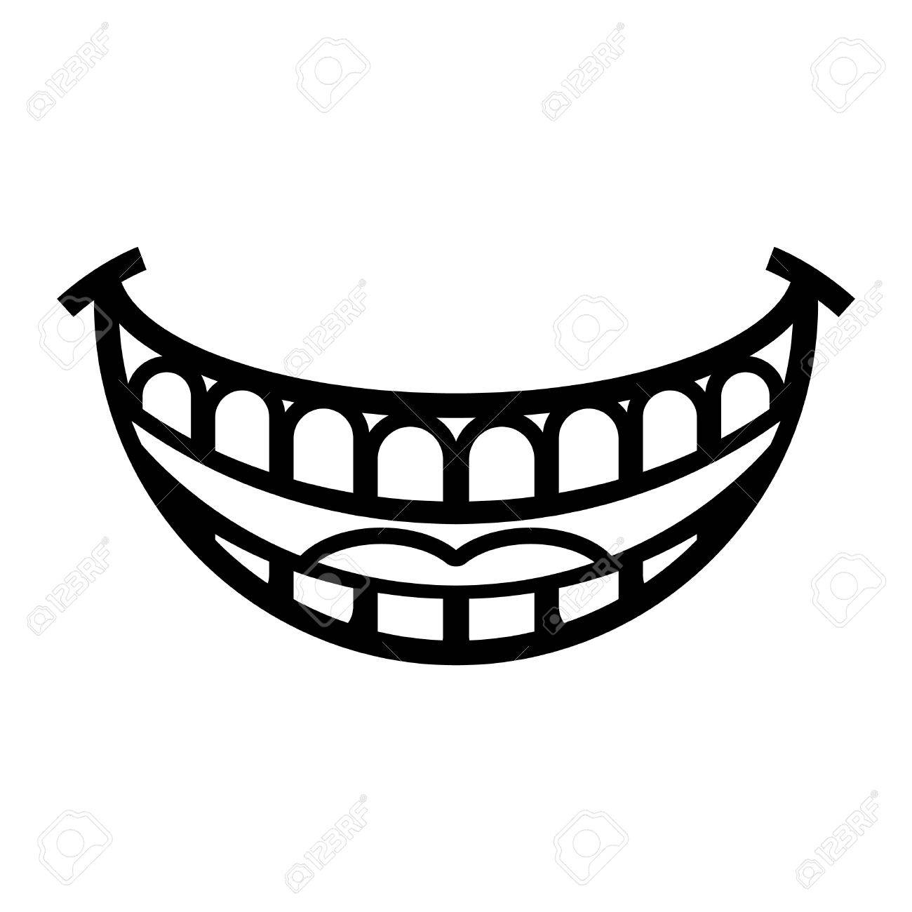 1300x1300 Big Cartoon Smile Vector Royalty Free Cliparts, Vectors, And Stock