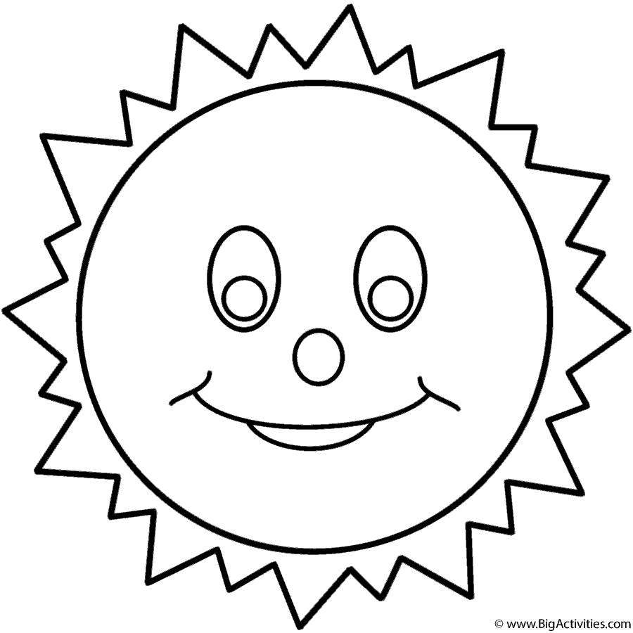 900x900 Smiling Sun And Title