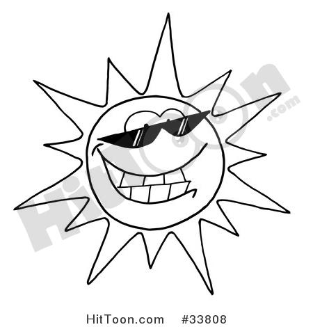450x470 Sun Clipart