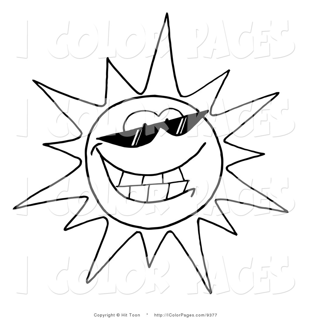 Smiling Sun Drawing at GetDrawings.com | Free for personal use ...