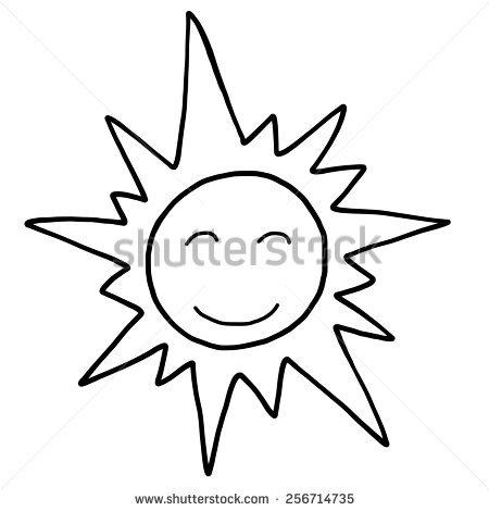 450x470 Drawn Sun Carton