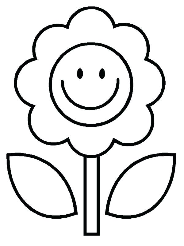 600x800 Happy Face Coloring Pages Face Coloring Page Color Page For Face