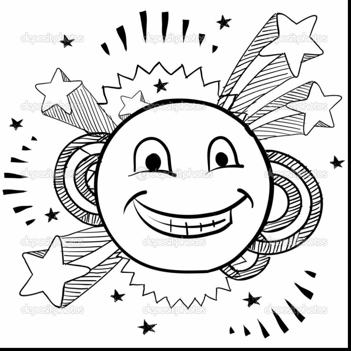 1126x1126 Coloring Pages Elegant Smiley Face Coloring Pages Good With Page
