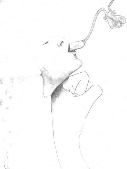 Smoke With Pencil Drawing At Getdrawings
