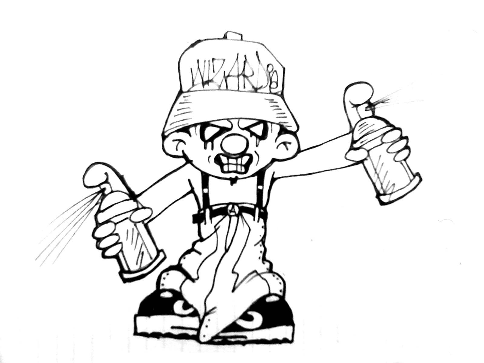 1600x1200 How To Draw A Cholo Smurf