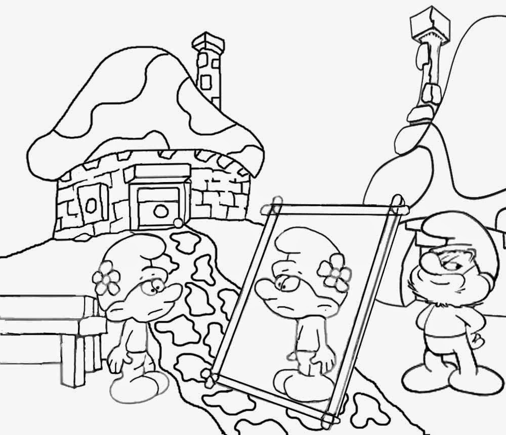 2550x3300 FREE SMURFS THE LOST VILLAGE PRINTABLE ACTIVITIES 1000x860 Free Coloring Pages Printable Pictures To Color Kids Drawing Ideas
