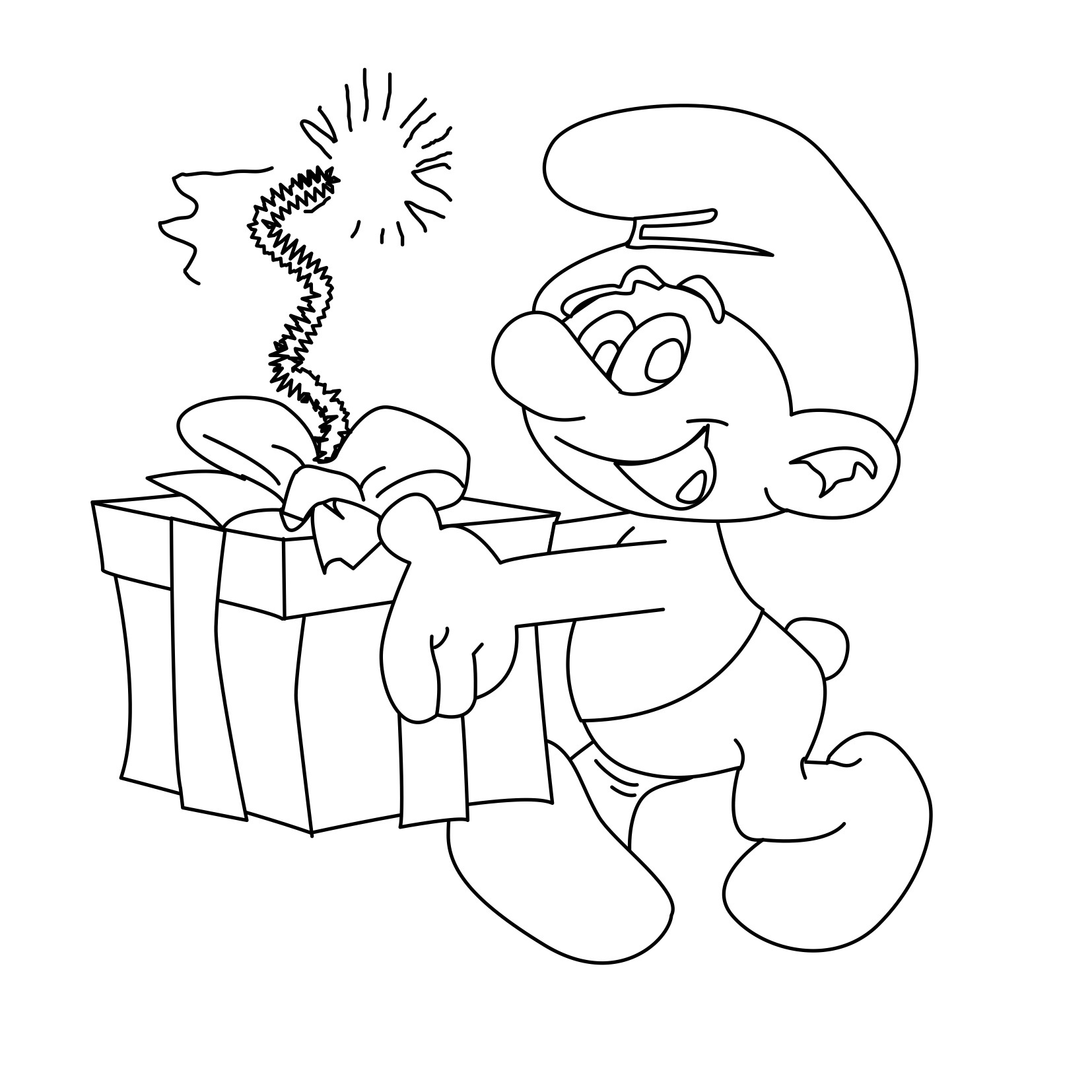 Smurfs Drawing at GetDrawings.com | Free for personal use Smurfs ...
