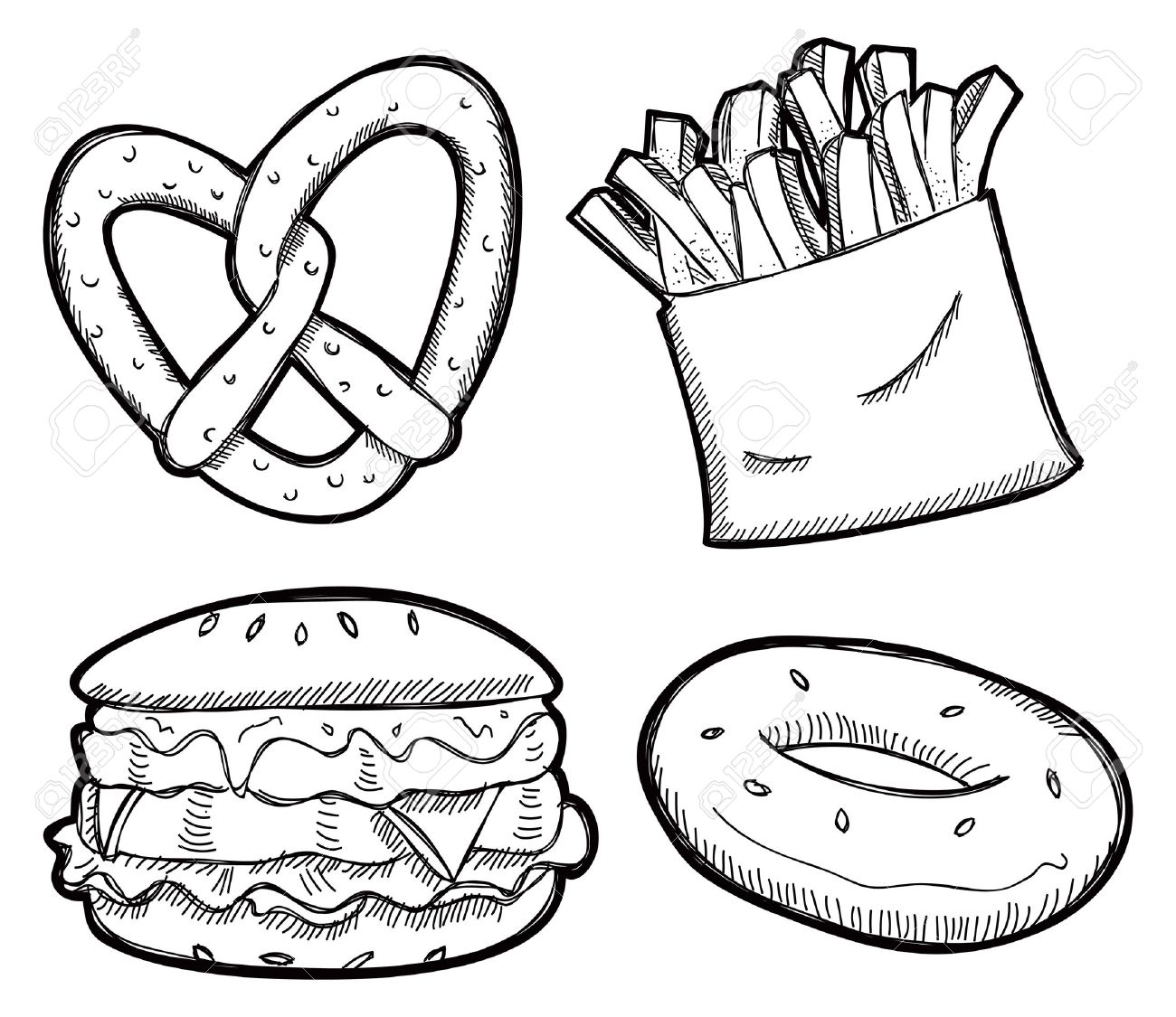 1300x1125 Snacks Clipart Black And White Snack
