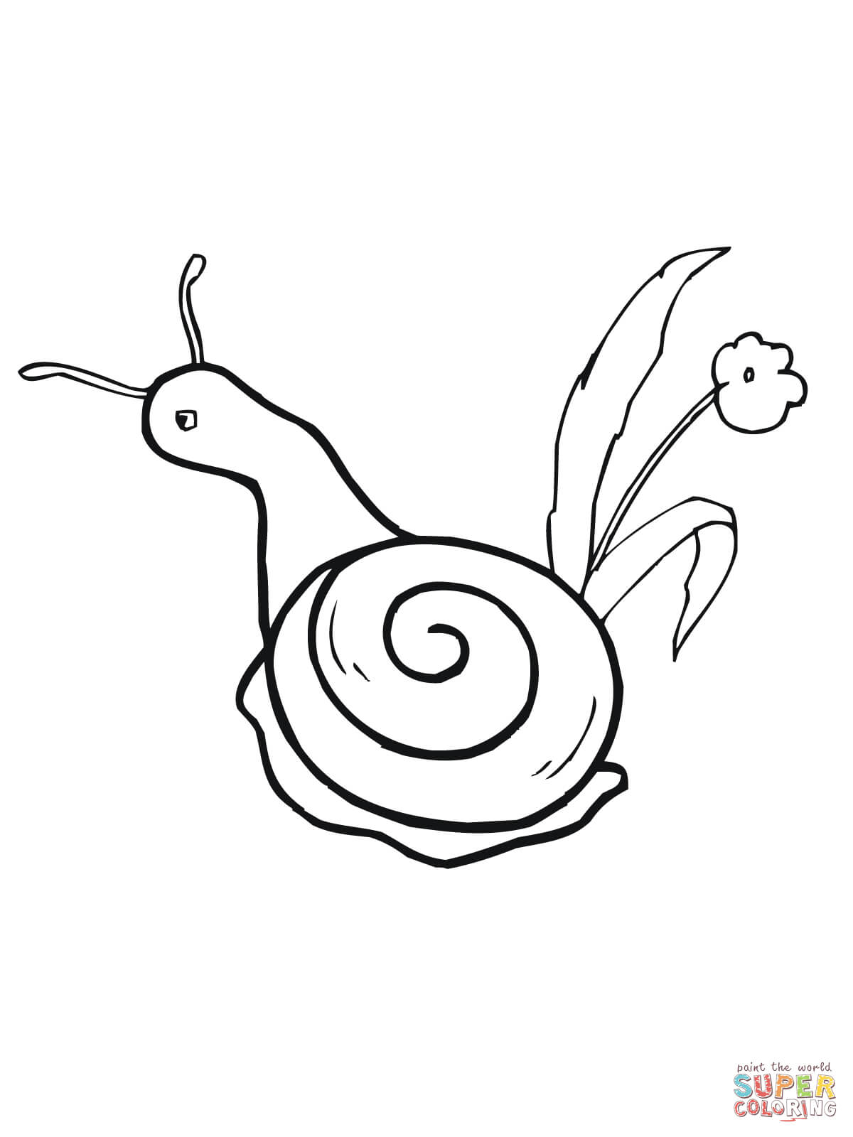1200x1600 Garden Snail Coloring Page Free Printable Coloring Pages