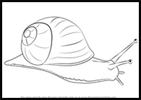 200x142 How To Draw Snails Drawing Tutorials Amp Drawing Amp How To Draw