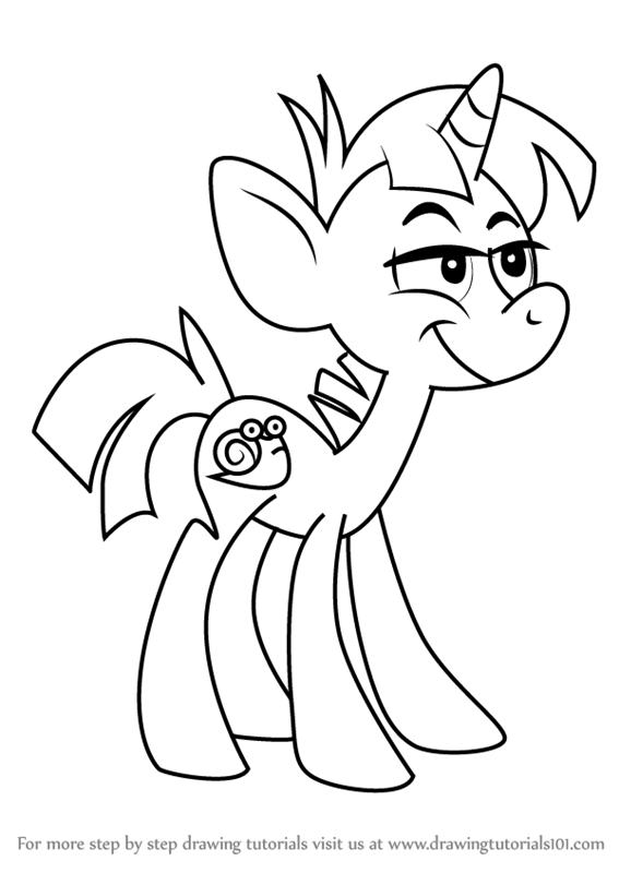 567x800 Learn How To Draw Snails From My Little Pony