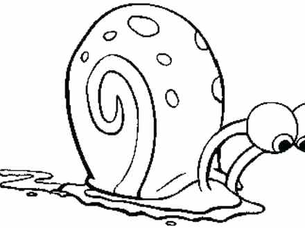 440x330 Snail Coloring Pages Synthesis.site
