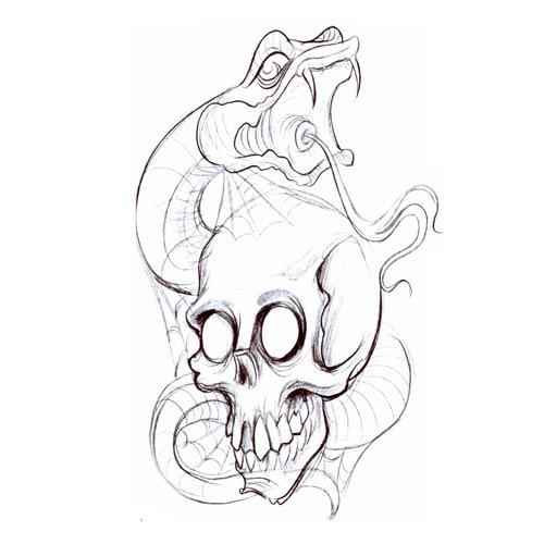 500x500 Snake tattoo designs legtattoo stencils free printableusmc tattoos