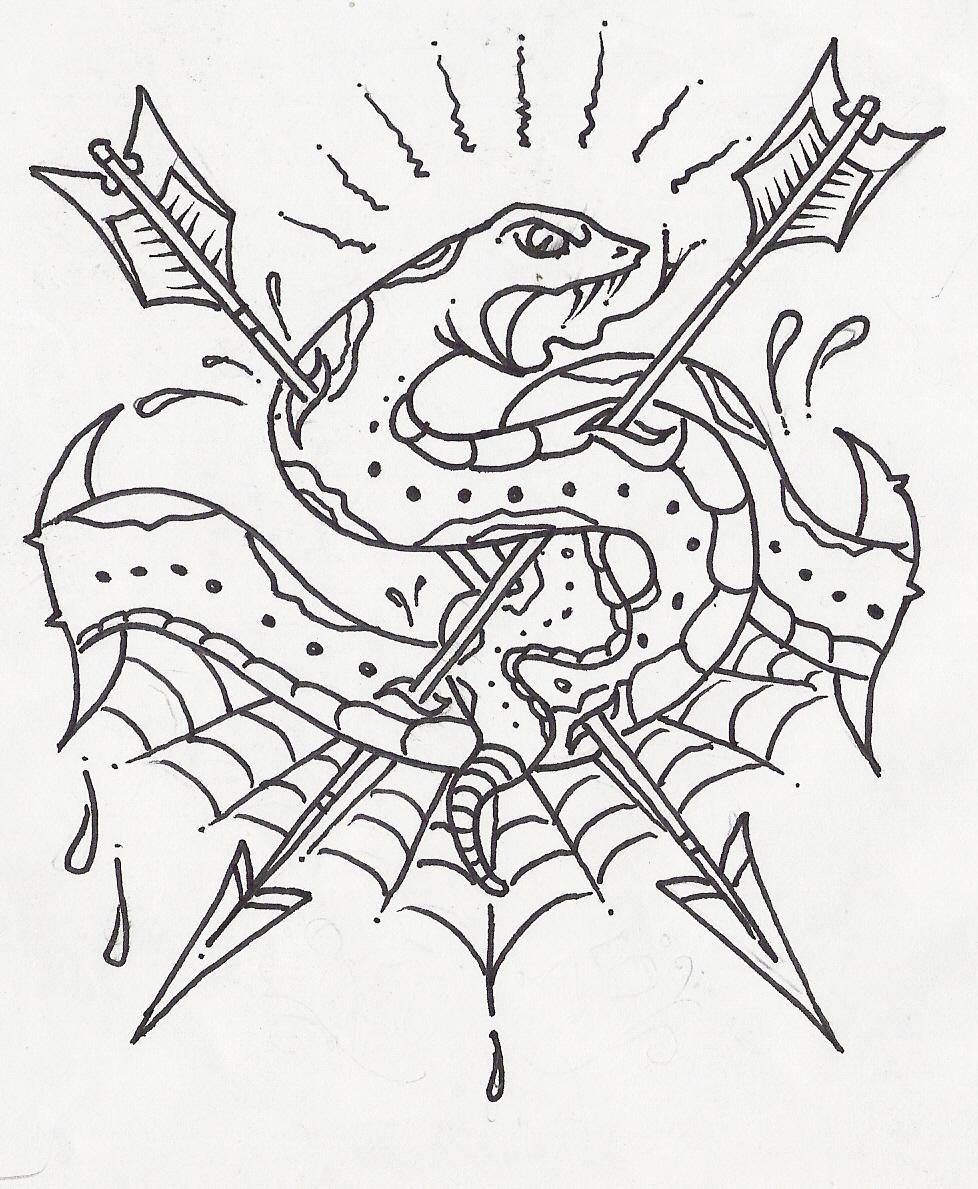 978x1189 skull heart snake by sambarrett on DeviantArt