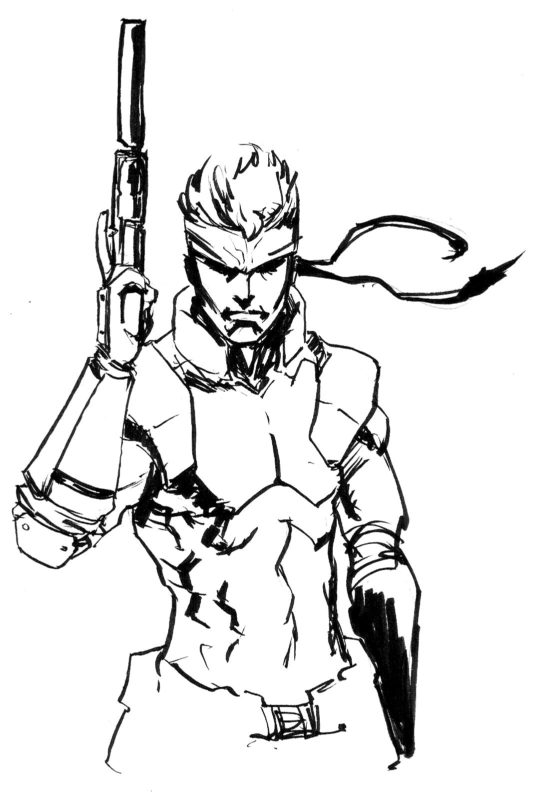 1073x1610 Metal Gear Solid Snake – Alex Cipriano