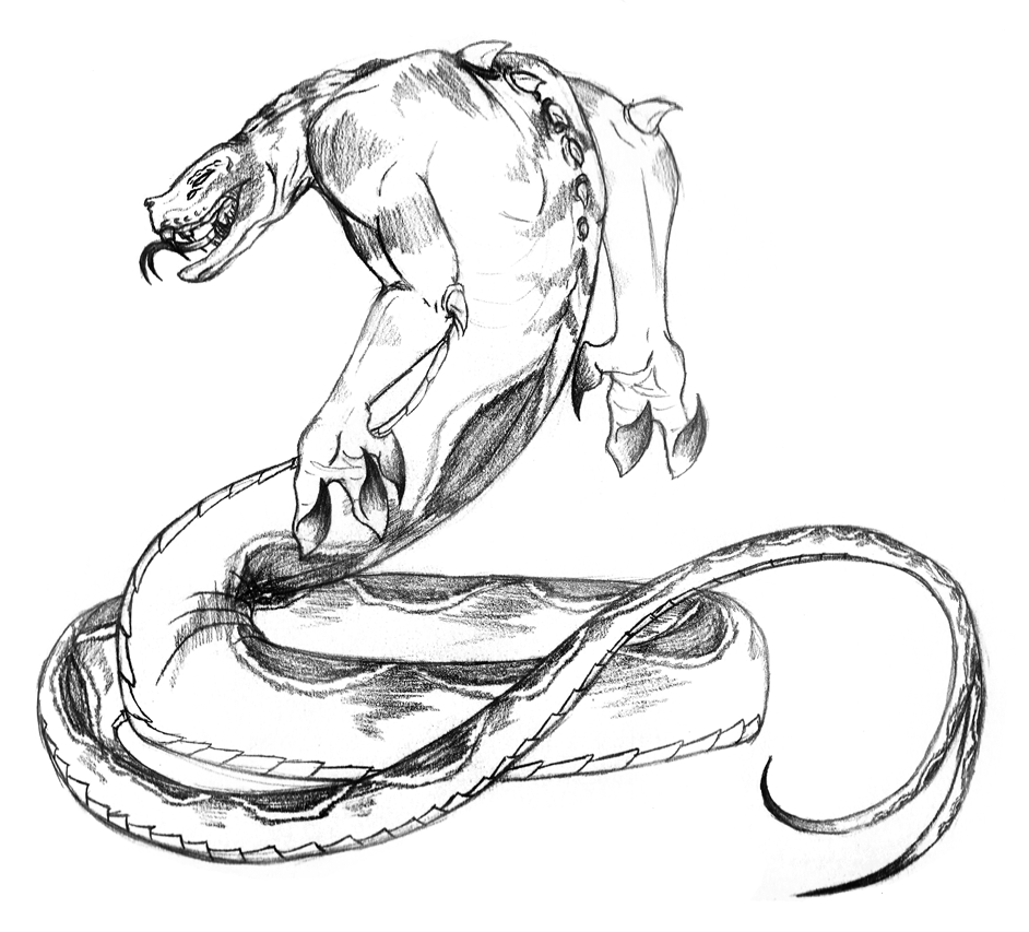 942x853 Snake Beast by Chobaryu on DeviantArt