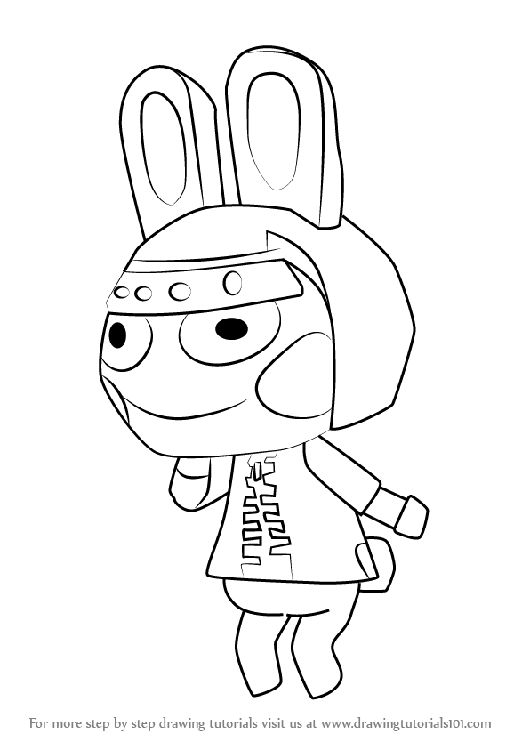 596x843 Learn How To Draw Snake From Animal Crossing (Animal Crossing