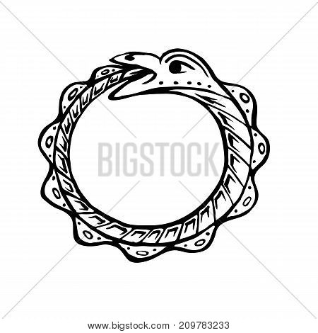 450x470 Snake Eating Images, Illustrations, Vectors
