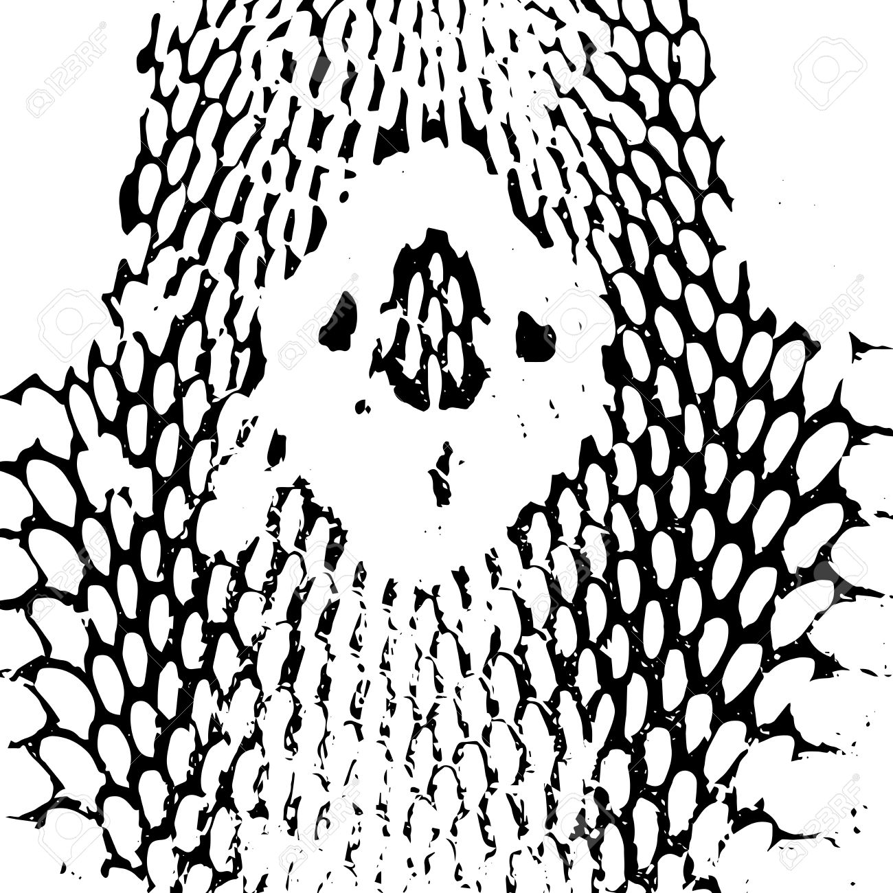 It's just an image of Dynamite Snake Skin Drawing