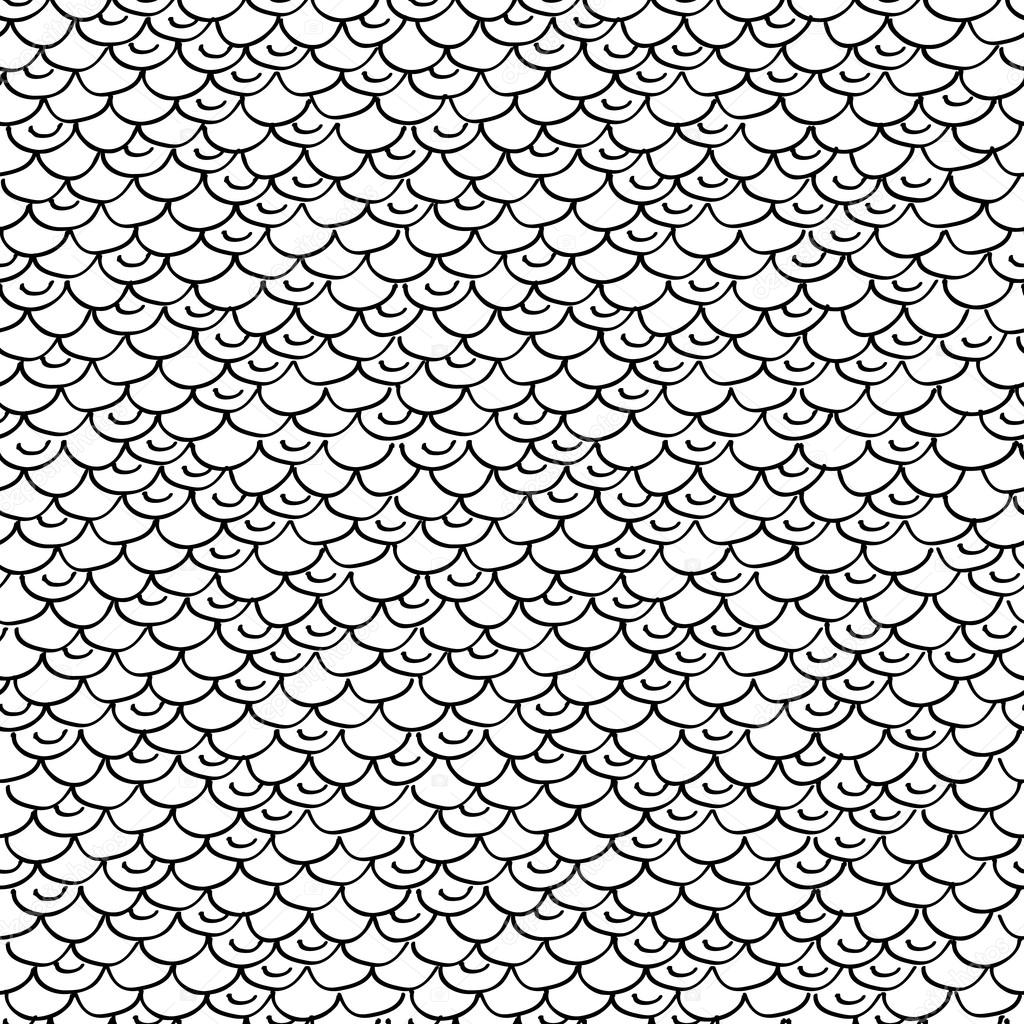 1024x1024 Seamless Fish Or Snake Scales