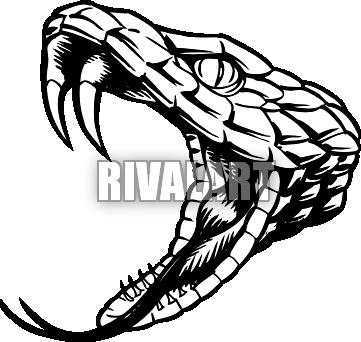 361x342 Drawn Cobra Open Mouth