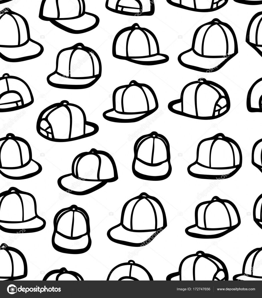 903x1024 Doodle Snapback's Stock Vector Synchr