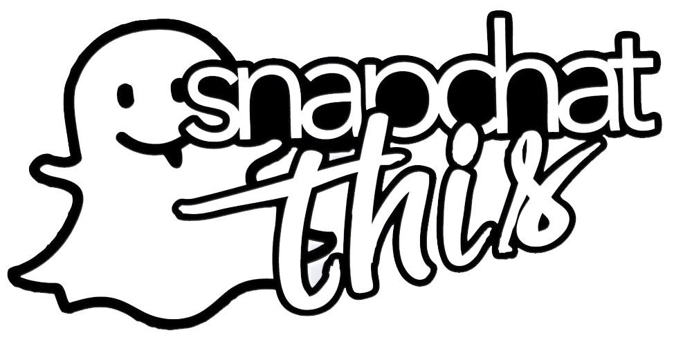 1000x511 Snapchat This Decal Sticker