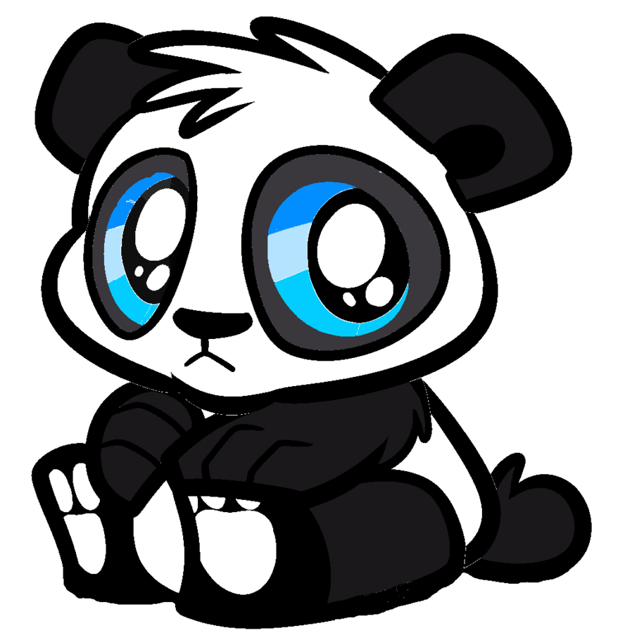878x910 Cute Panda Bear By Parry90118