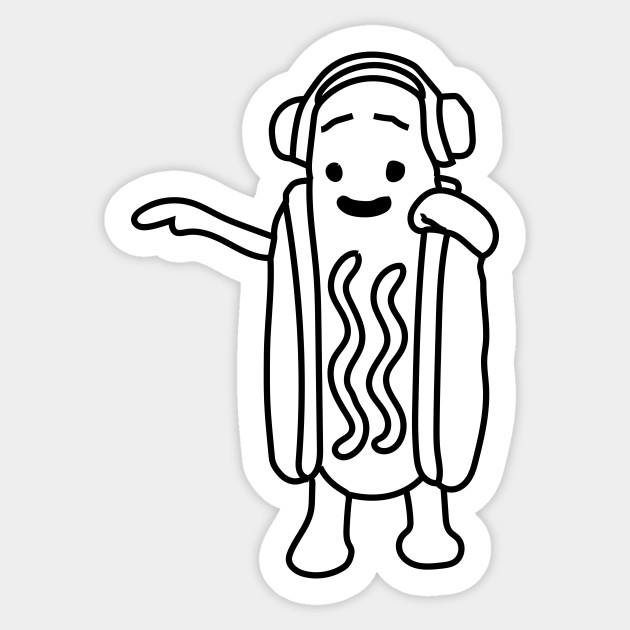 630x630 Snapchat Dancing Hot Dog