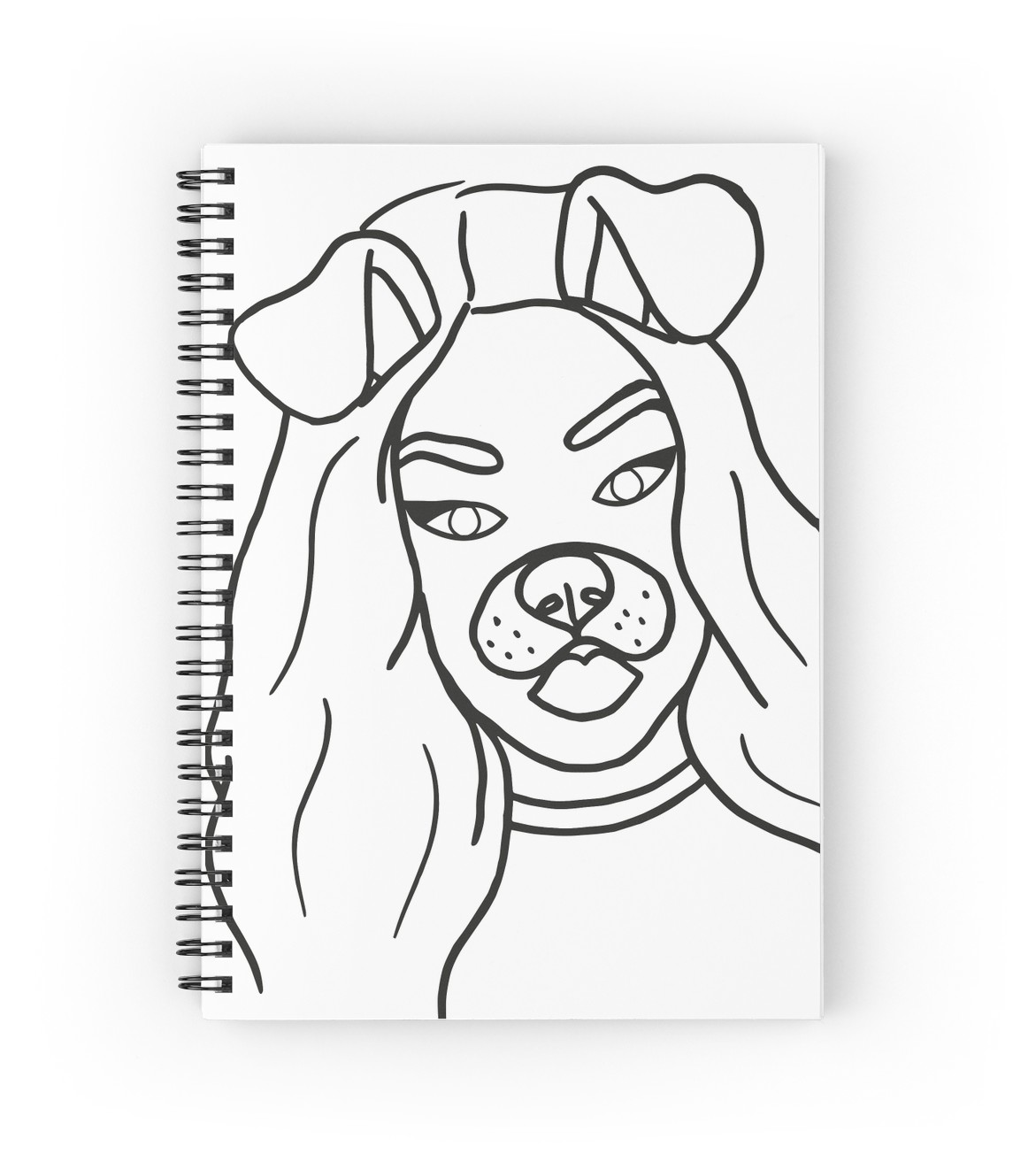 1171x1313 Snapchat Girl Spiral Notebooks By Emabee Redbubble