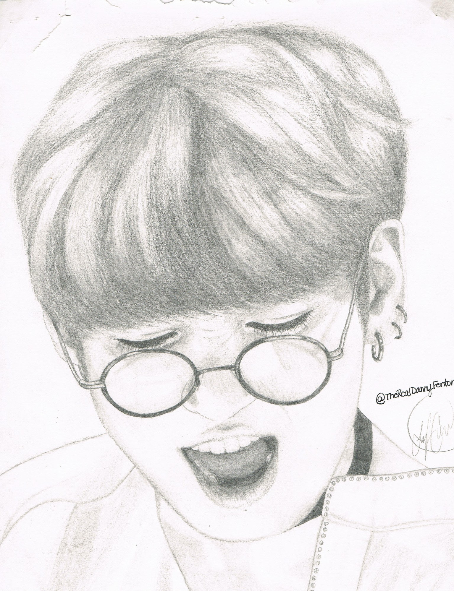 1535x2000 Bts Jeon Jungkook By Therealdannyfenton One Of My First Sketches