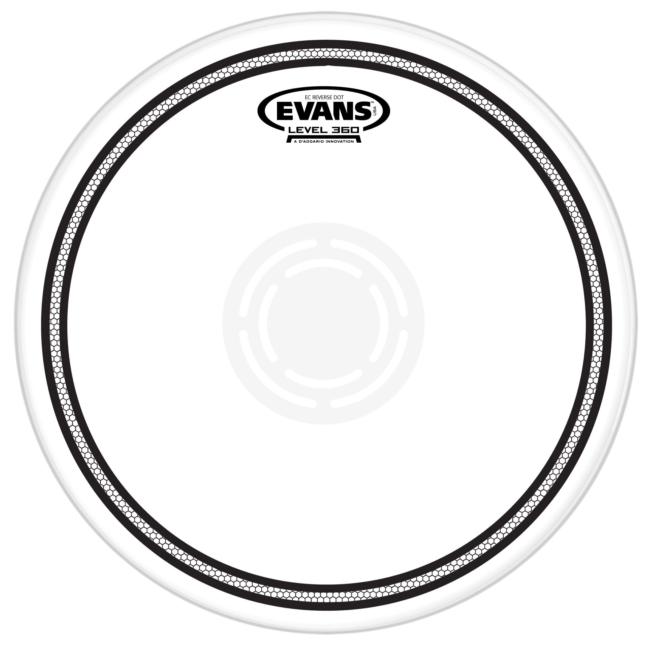 2100x2100 Evans 13 Ec2 Rev Dot Snare Batter (B13ecsrd) Lone Star Percussion